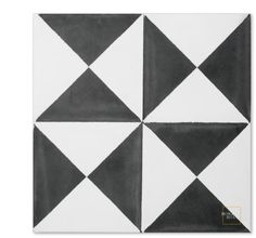 Mariposa C14-4 encaustic tile from Mosaic House
