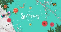 The Spring Fonts Bundle is a collection of 20 fully PUA encoded typefaces, carefully chosen fonts to bring your design work to life. Get 93% off today.  Available until April 30