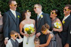 tara francis photography, fun wedding party