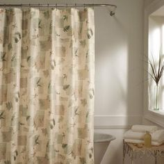 Ex Cell Home Fashions Wasabi Fabric Shower Curtain | Shower Curtains |  Pinterest | Shower Curtains Walmart, Walmart And Fabrics