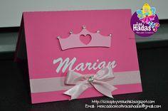 Scrap by Veruchis: Ideas de Invitaciones para fiesta de Princesas