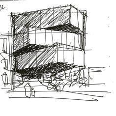 😍👏🎉 - O arquiteto português Eduardo Souto de Moura recebeu o Prêmio Ibero-americano de Arquitetura e Urbanismo da BIAU - Saiba mais no link em nosso perfil. O croqui é do projeto Edifício Cantareira - 2013 #arquitetura #arquitectura #biau #bienal #portugal #soutodemoura #archdailybr #igersbrasil #instagood