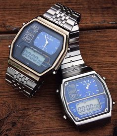 Seiko Alba Analog Digital Watch from the 80s