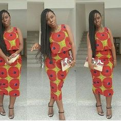 ankara style ispiration ~African fashion, Ankara, kitenge, African women dresses, African prints, African men's fashion, Nigerian style, Ghanaian fashion ~DKK: