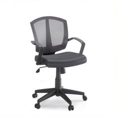 Back To School Chair Contemporary Gray Mesh Computer Dorm Study Home Office Task #backtoschool