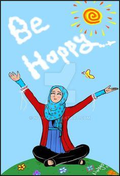 be happy by nohya.deviantart.com on @DeviantArt