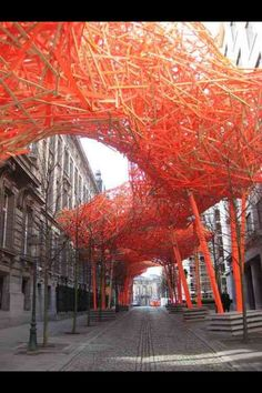 The Sequence by Arne Quinze, Brussels