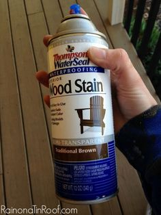 How to Stain Wood Outdoors the Easy Way {Lattice Refresh}.  I want to kiss the original poster.  I have so much to stain this summer.