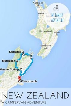 My Family Adventure: New Zealand. Antonia Milkop discovers the lesser known sights of New Zealand's South Island on a road trip with the family.