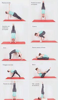 Guía de posturas de Yoga para principiantes - 10 Ideas Chaturanga, Reiki, Sporty, Weight Loss, Gym, Health, Fitness, Yoga, Beginner Yoga Poses