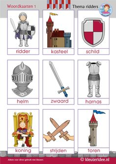 ►Interactive theme image ►Interactive kindergarten songs ►Language activities ►Math activities ►Writing activities ►Crafts Knights and noblewomen words with pictures for kindergarten Theme Carnaval, Castle Crafts, Dragons, Castle Project, St Georges Day, Kindergarten Songs, Medieval Party, Knight Party, Cardboard Castle