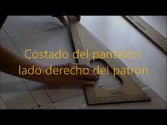 PANTALÓN TIPO PALAZZO - Transformación del patrón trasero