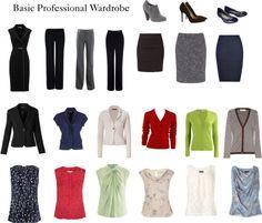 """""""Basic Professional Wardrobe"""""""