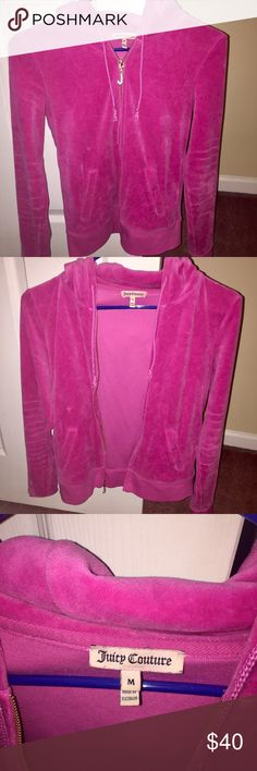 Juicy Couture Track Jacket Juicy Couture Track jacket, in great condition - barely worn! Very comfy! Juicy Couture Jackets & Coats