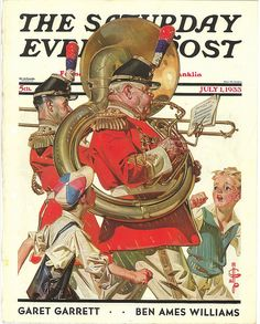 The Saturday Evening Post (July 1, 1933) by J.C. Leyendecker