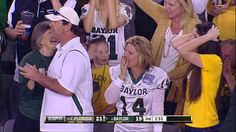 Baylor's Petty Flips Into End Zone For TD