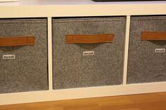 Ikea Regal Kisten katzenhöhle aus filz box bett körbchen kiste passend ikea expedit