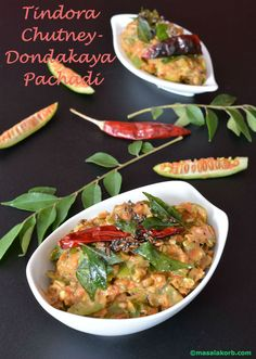 Tindora Chutney-Dondakaya Pachadi is a classic Andhra style chutney that is popular and simple to make with regular ingredients. It jazzes up any meal.