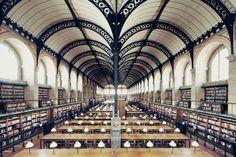 Bibliotheque Sainte Genevieve - Franck Bohbot's Portfolio - House of Books (work in progress). Interior photos of great Libraries.