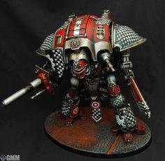 Imperial Knight, War Machine, Warhammer 40k, Knights, Robots, Samurai, Facebook, Knight, Robot