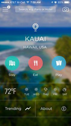 Gogobot iPhone detail views screenshot