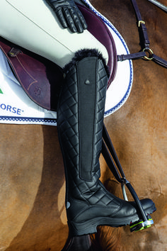 FEEL THE WARMTH! And look AWESOME too with the Mountain Horse®️️ Stella Polaris Winter Boot. Pretty enough for hunting and warm too.