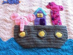 Made to Order Boy or Girl Noah's Arc Ark by NightAndDayCrochet