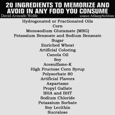 Be aware -- it's more than just Gmos and pesticides--- many of the additives in our foods are banned in the rest of the world.