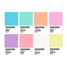 Pantone Color Chart, Pantone Colour Palettes, Pastel Colour Palette, Colour Pallete, Pastel Colors, Journal Stickers, Aesthetic Stickers, Colour Board, Printable Stickers