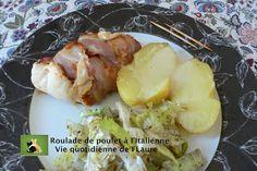 Roulade de poulet à l'Italienne, Vie quotidienne de FLaure