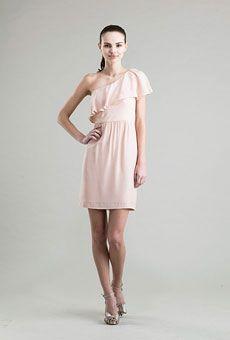 Brides: One-Shoulder Bridesmaid Dresses | Wedding Dresses and Style | Brides.com