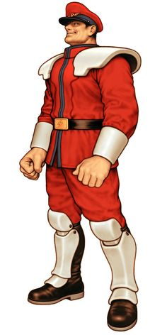 Street Fighter - M. Bison by Kinu Nishimura and Toshiaki Mori aka Shinkiro *
