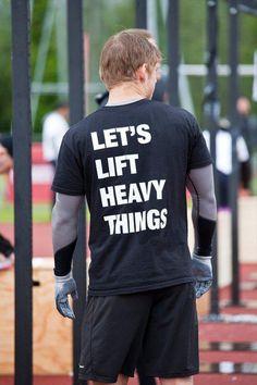 Reebok Crossfit Games. Let's Lift heavy things! :)