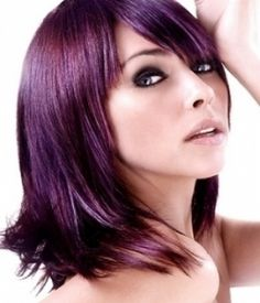 Purple Hair Color Ideas Hairstyles Pictures Hairstyles Gallery Haircut for Linda