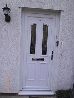 Upvc Front Door, Decor, Doors, Outdoor Decor, Tall Cabinet Storage, Front Door, Garage Doors, Home Decor, Upvc