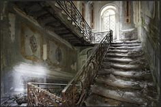 Abandoned mansion in Australia. ...