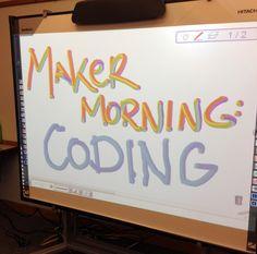 Maker Morning: Coding