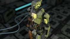 Image result for robot 3d design