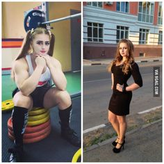 A powerlifter in the gym v.s. in the real world
