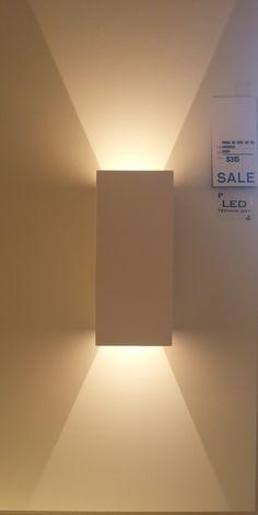 Simple Yet Dramatic. Wall Mounted Lamps, Hallway Lighting, Light Fixtures, Wall Lights, Simple, Interior, Home Decor, Lights, Lighting