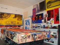 In the Artist's Studio: Daniel Dens