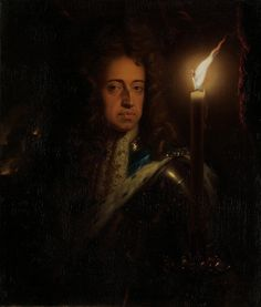 Godfried Schalcken - Portrait of William III, Prince of Orange [c.1692-97] | Flickr - Photo Sharing!