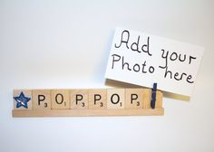 Pop Pop Photo, Pop Pop Frame, Pop Pop Christmas Photo, Christmas Frame, Fathers Day, Dads Day, Grammy Gift, Pop Pop Gift, Dad Gift, Papaw