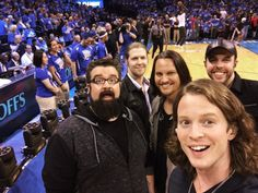 When the guys sang the National Anthem at a Thunder Game. Home Free Music, Home Free Band, Home Free Vocal Band, Easy Listening, Austin Brown Home Free, Jazz, Singing The National Anthem, Country Bands, Luke Bryan