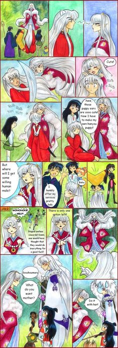 163 Best Rin and Sesshomaru images in 2017 | Manga, Manga