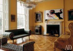 Дом в Риджентс-парк, принадлежащий английской короне: фото классических интерьеров | Admagazine | AD Magazine