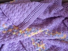 crochet shell stitch blanket pattern