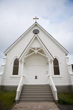 sweet little white church