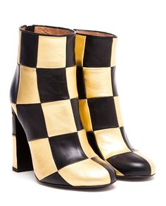 LAURENCE DACADE | Flaubert Checked Leather Ankle Boots