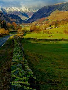 Distant Peaks, Thirlmere, England photo via agoodthinghappened